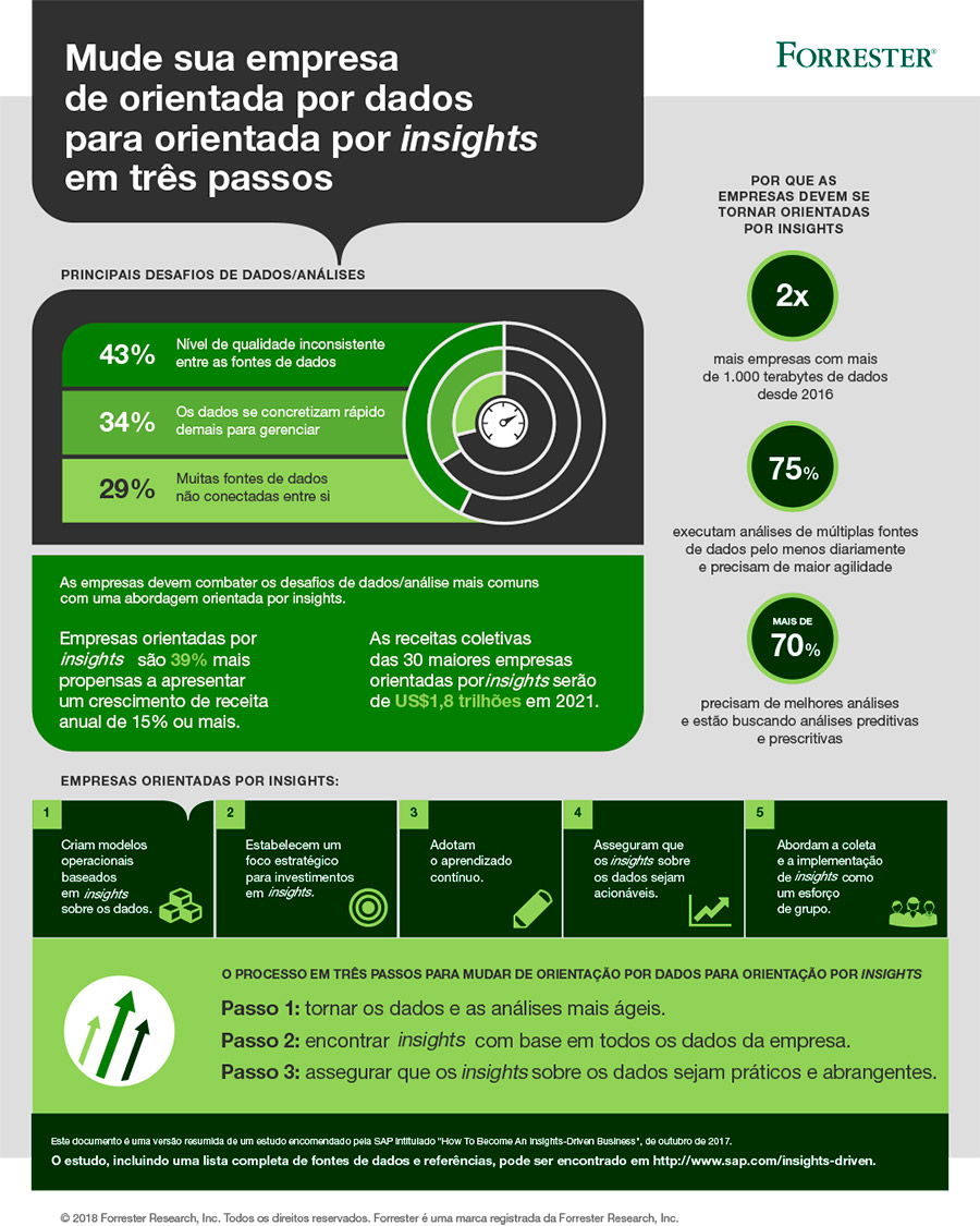 Infográfico - Dados x Insights